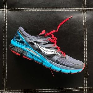 Saucony Zealot ISO 3 Red  Athletic Shoes